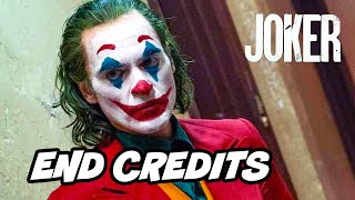 Joker Ending Scene and End Credit Scene Breakdown