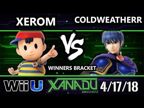 S@X 246 Smash 4 - Xerom (Ness) Vs. ColdWeatherr (Marth) - Wii U Winners Bracket