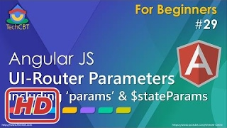 [Javascript Tutorial] AngularJS UI-Router Tutorial - Working with Parameters