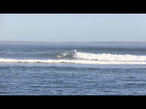 Fun waves at Point Leo