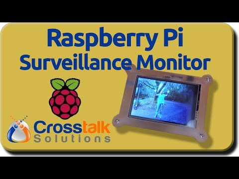 Raspberry Pi Surveillance Monitor