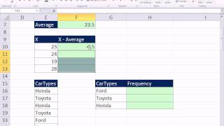 Excel 2010 Statistics 08: Cell References In Formulas: Relative and Absolute