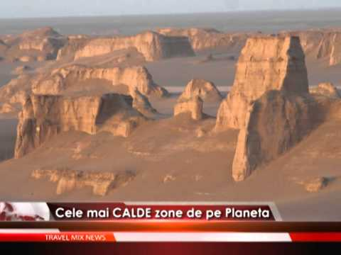 Cele mai CALDE zone de pe planetă – VIDEO