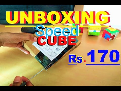 """UNBOXING """"Rubik's Cube"""" IN HINDI 