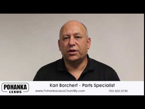 Parts Specialist Karl Borchert