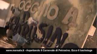 preview picture of video 'Petrosino. Aspettando il Carnevale 2013'