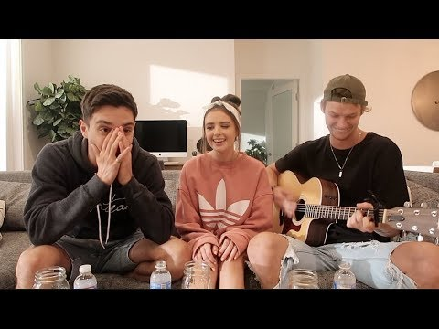 Sing Anything Challenge ( w/Jess and Gabriel Conte )