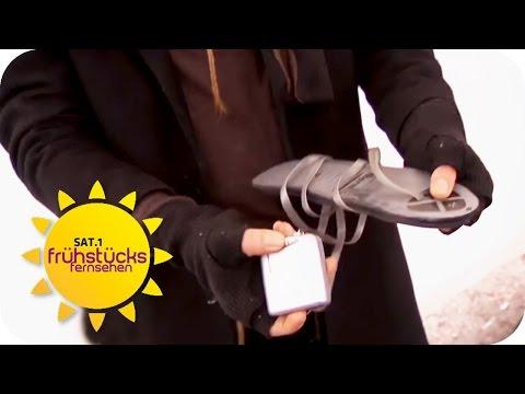 Beheizte SCHUHSOHLEN? - TIPPS gegen FRIEREN   SAT.1 Frühstücksfernsehen