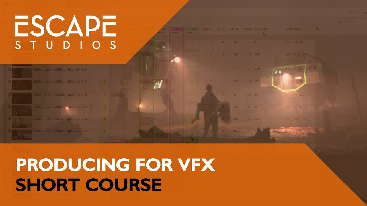 Producing for VFX