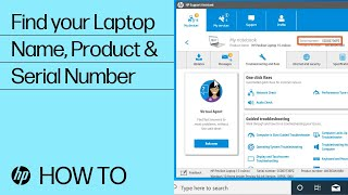 Find Your HP Laptop Name, Product Number, or Serial Number | HP Notebooks | HP