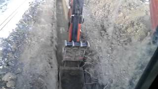 How to dig pipeline ditch