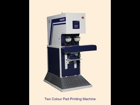 Two Color Pad Printing Machine
