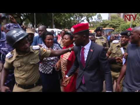 Bobi Wine ku CPS; Akoze siteetimenti, aba Boda Boda bamuwerekedde