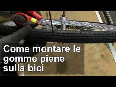 Come montare le gomme piene sulla bici TUTORIAL