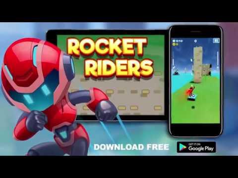 Vídeo do Rocket Riders: 3D Platformer