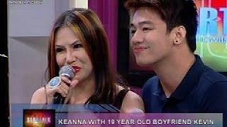 Startalk: Relasyon nina Keanna at Kevin, 7 months na