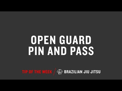 Open Guard Pin And Pass