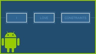 ConstraintLayout Tutorial Part 3 - GONE MARGIN, CHAINS & GUIDELINES - Android Studio Tutorial