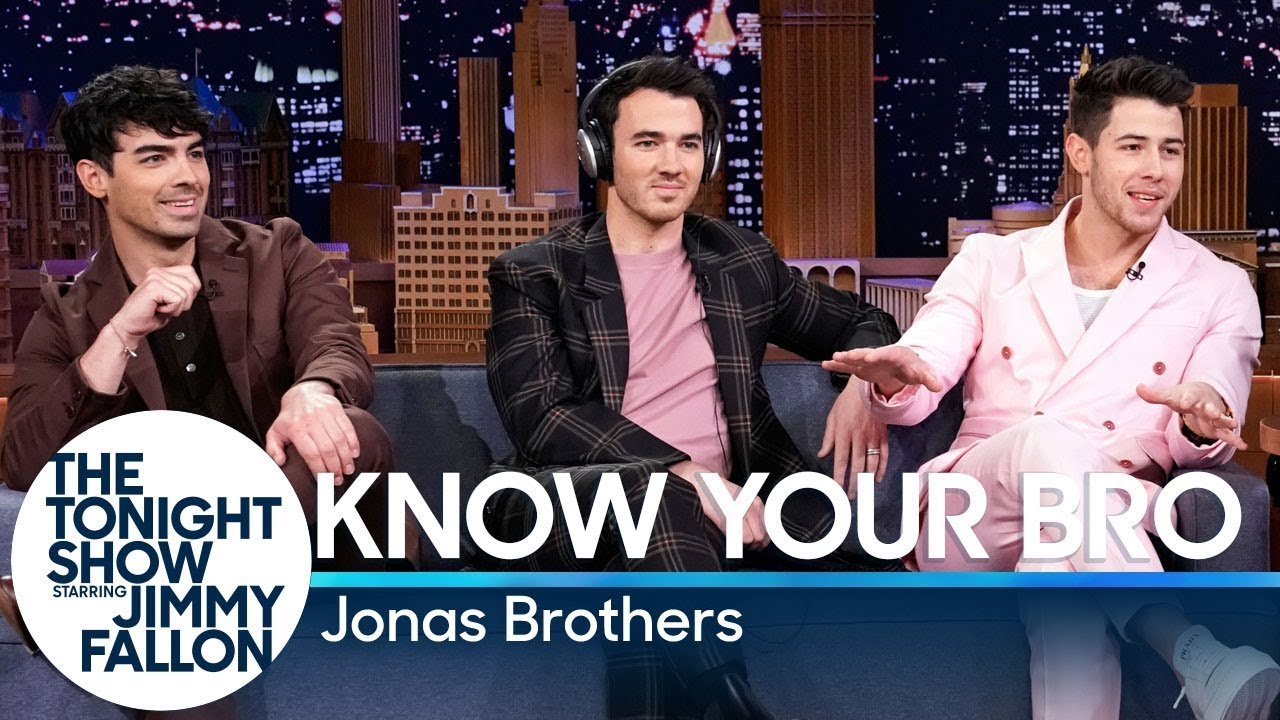 Know Your Bro with the Jonas Brothers thumbnail