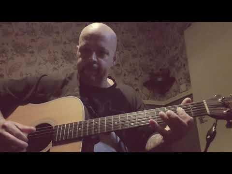 Acoustic Delta influenced Blues in A. Tony Alles
