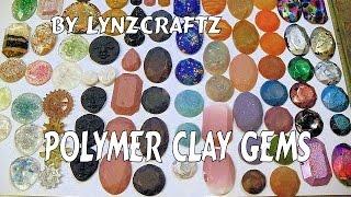 Polymer clay Gems tutorial pt2