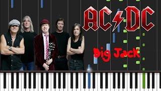 AC/DC - Big Jack [Piano Cover Tutorial] (♫)