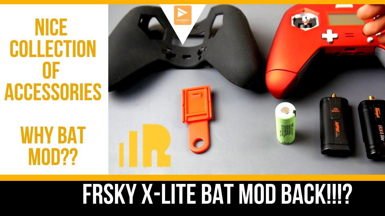 Mega Drone Stars | FrSky X-Lite Accessories List // Why The