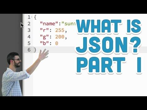 8.2: What is JSON? Part I – p5.js Tutorial