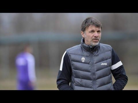 Baroni presenta la Viareggio Cup della Juventus – Baroni looks ahead to Viareggio Cup campaign