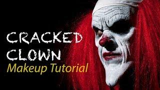 Cracked Clown Makeup Tutorial