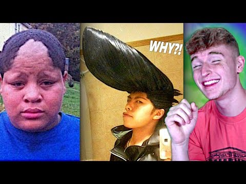 The WORST Haircuts Of All Time.. (Too Far)