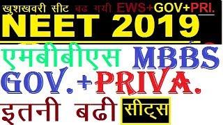 neet seats increased 2019||neet seats increased||neet pg seats increased
