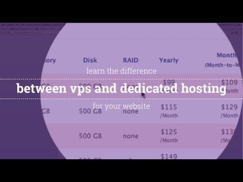The Difference Between a VPS and Dedicated Server