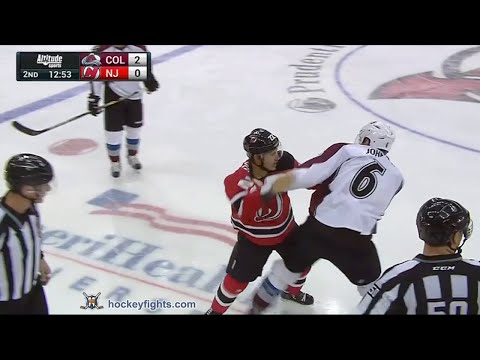 Jordin Tootoo vs. Erik Johnson