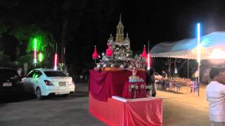 preview picture of video 'Loi Krathong, Wat Tua Tong, Pathum Thani'