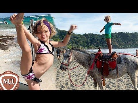 ДОЧЬ ТИМАТИ АЛИСА: Я люблю экстрим! Воздушная гимнастка и наездница!