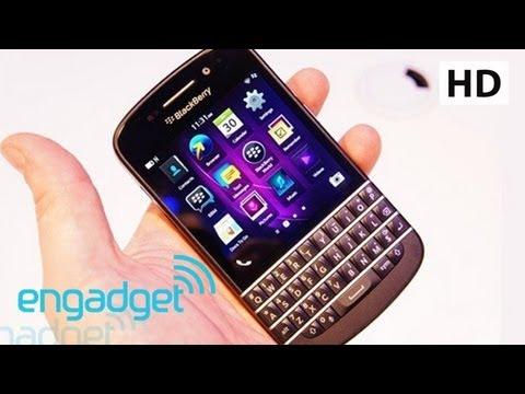 BlackBerry Q10 Hands On