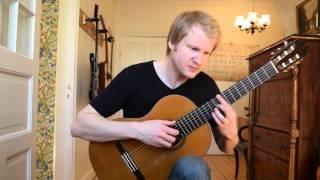 Adelita - Francisco Tarrega (Acoustic Classical Fingerstyle Guitar Cover by Jonas Lefvert)