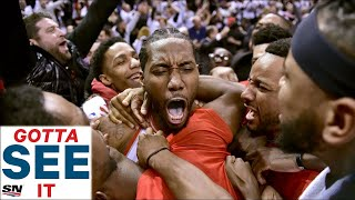 GOTTA SEE IT: Every Angle Of Kawhi Leonard's Game 7 Buzzer Beater vs. 76ers