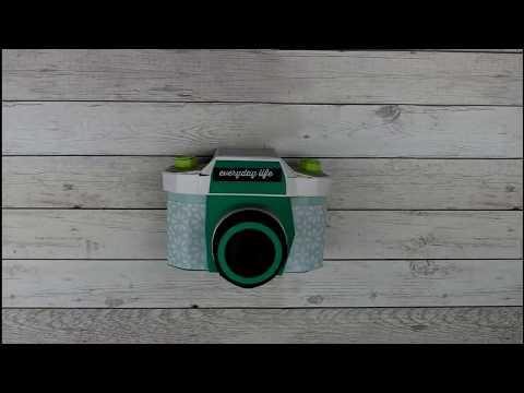 DIY Projekt Kamera mit Minialbum