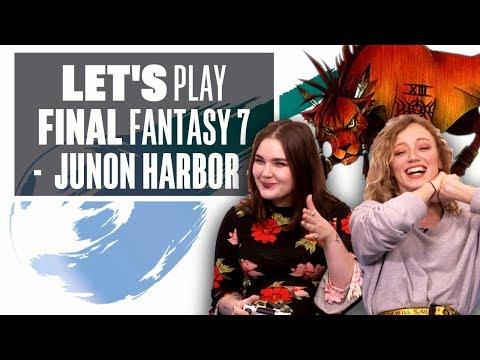 Let's Play Final Fantasy 7 Episode 6: JUNON HARBOUR HIJINKS