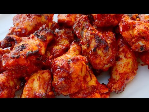 Spicy BBQ Chicken (Maeun-dakbonggui: 매운닭봉구이)
