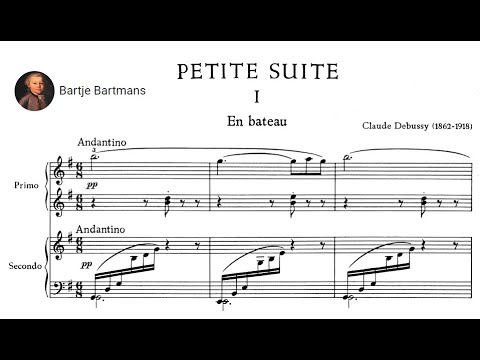 Claude Debussy - Petite Suite For Piano 4 Hands Mp3