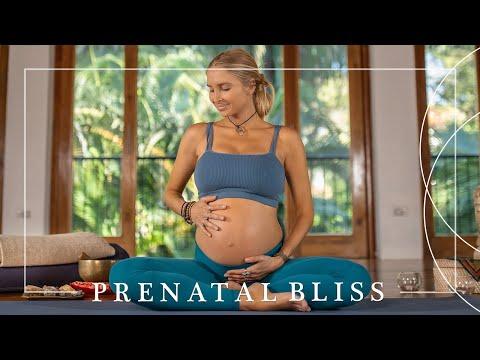 25 Min Prenatal Yoga Workout   Gentle Full Body Class For A Healthy Pregnancy