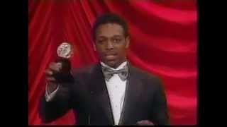 Hinton Battle wins 1984 Tony Award for Best Featured Actor in a Musical