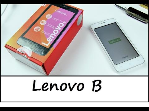 "Lenovo B - kompaktes 4,5"" LTE Smartphone im Unboxing - Deutsch"