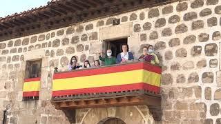 SS.MM. los Reyes asisten en Vinuesa a una reunión de trabajo sobre el reto demográfico