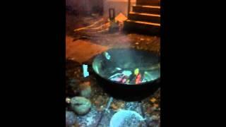 Jim Beam Grill Bonfire