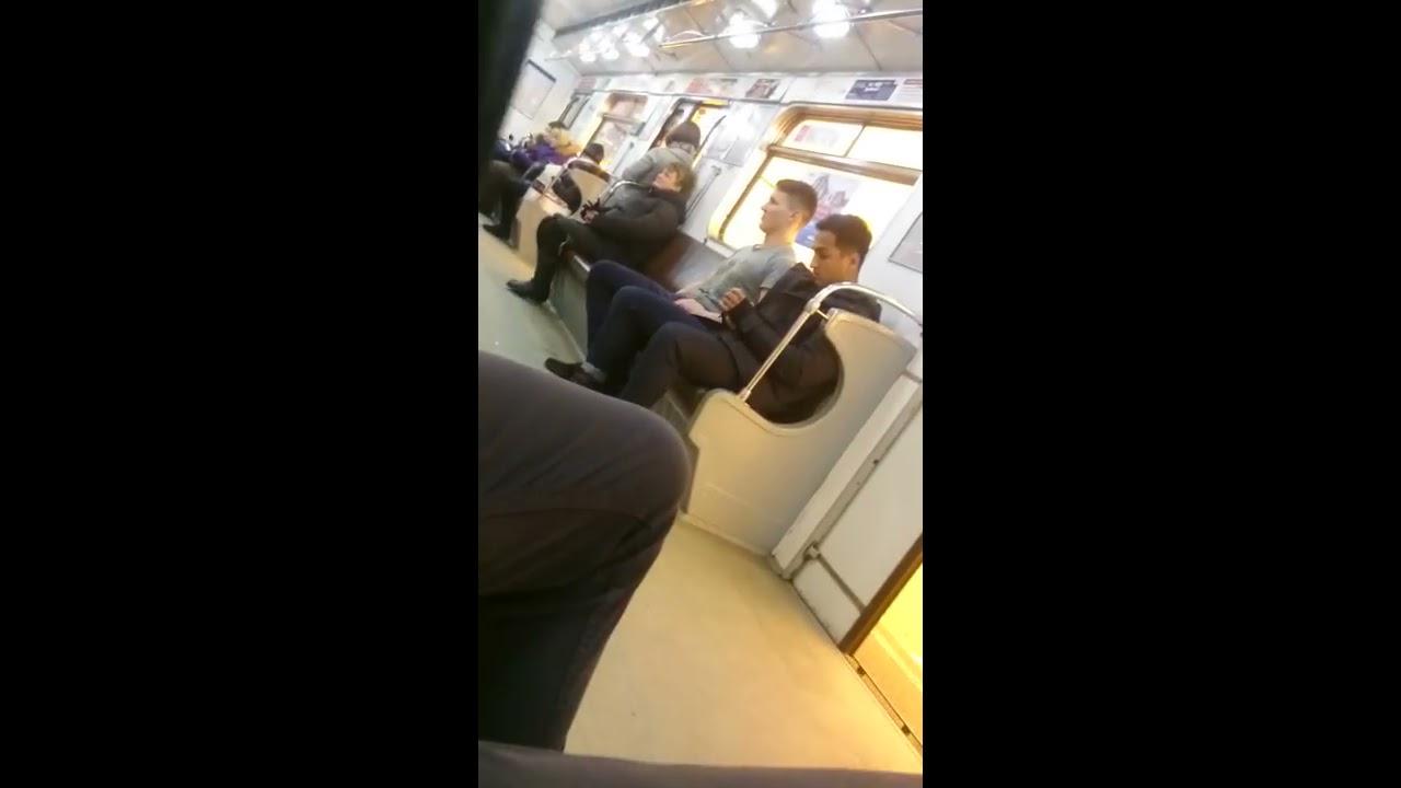 Драка в Питерском метро