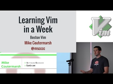 mp4 Learning Vim, download Learning Vim video klip Learning Vim